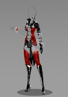 (closed) Auction Adopt - Outfit 319 by CherrysDesigns on DeviantArt Clothing Sketches, Dress Sketches, Hero Costumes, Anime Costumes, Dress Drawing, Drawing Clothes, Anime Outfits, Cool Outfits, Fashion Outfits