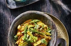 Turmeric Curry - Curry met Groene Asperges