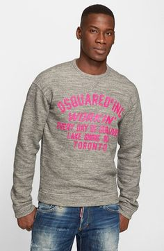 Dsquared2 French Terry Graphic Sweatshirt