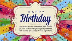 Send this free happy birthday psalm 204 ecard to a friend or free birthday ecards the best happy birthday cards online bookmarktalkfo Images