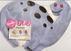 Wilton 1 2 3 Cake Pan Dinosaur 21059475 1992 ** Be sure to check out this awesome product.(This is an Amazon affiliate link and I receive a commission for the sales)