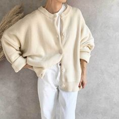 Spring Fashion, Autumn Fashion, Knit Cardigan, Fall Winter, Spring Summer, Pullover, Style Inspiration, Knitting, My Style