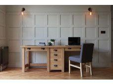 The Companion's Oak Desk