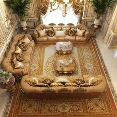 Luxurious Villa Design in Cambodia Luxury Homes Interior, Home Interior Design, Baroque Design, Indian Interiors, Modern Office Design, Luxury House Plans, Villa Design, Interior Design Companies, Ceiling Decor
