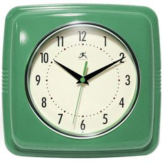 Found it at Wayfair.ca - Retro Square Wall Clock