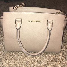 Michael Kors Purse Colored Mid Size Barely Used