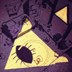 ImageFind images and videos about gravity falls, dipper pines and bill cipher on We Heart It - the app to get lost in what you love. Gravity Falls Bill Cipher, Art Gravity Falls, Dipper E Mabel, Dipper And Bill, Dipper Pines, Billdip, Geeks, Desenhos Gravity Falls, Gavity Falls