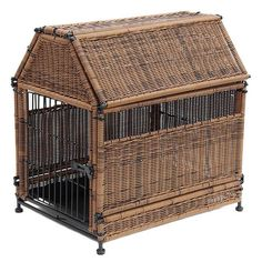 Maybelle Wicker Pet Crate | Joss and Main