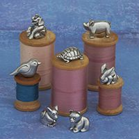 """Toothfairy Boxes - Handcrafted In Vermont - Danforth Pewter is celebrating its 40th anniversary this year. Stop in during Open Studio Weekend, May 23 & 24 and watch Fred Danforth """"turn"""" pewter, in the Middlebury store."""