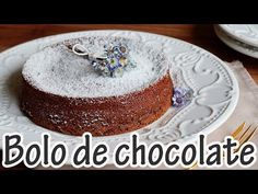 Bolo de chocolate *com 2 ingredientes*
