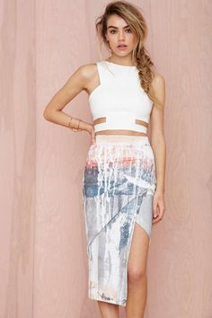 Maurie & Eve Infinite Asymmetric Skirt | Shop Skirts at Nasty Gal