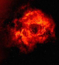 The Skull like Rosette Nebula - NGC 2237