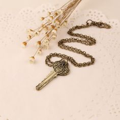 Cool 221B Baker Street Key Necklace. Found at the Amelia Stardust jewelry website