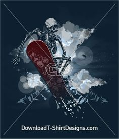 Like this Design? Download Now at: http://downloadt-shirtdesigns.com/all-designs/downloadt-shirtdesigns-com-2121120.html #Skeleton #Snowboarder #download #print #tee #tshirt