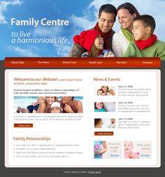 Family Center Website Templates by Mira Joomla Templates, Website Template, Beauty Care, Live Life, Parenting, Ads, Blog, Blogging, Raising Kids