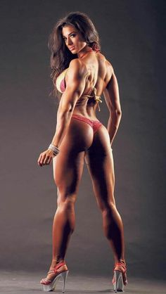 #femalemuscle #strong #fit & #sexy #bodybuilding #Athlete
