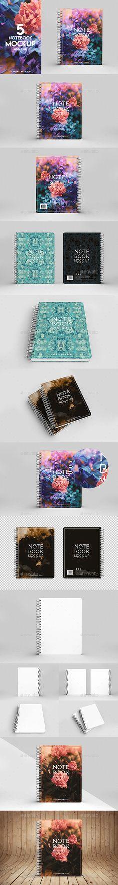 Notebook Mockup Vol 1