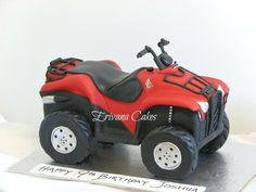 ATV cake - Cake by erivana