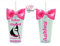 Personalized Tumbler for a Color Guard Personalized with Name BPA free 16 oz Acrylic Tumbler from PYdesigned on Etsy. Color Guard Flags, Colour Guard, Band Jokes, Senior Gifts, Band Camp, Winter Guard, Acrylic Tumblers, Personalized Tumblers, Vinyl Crafts