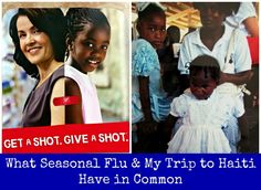 SavingSaidSimply.com - What Seasonal Flu and My Trip to Haiti Have In Common #GetAShot #shop