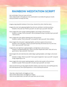 guided meditation scripts for kids ~ guided meditation scripts + guided meditation scripts mindfulness + guided meditation scripts for kids + guided meditation scripts yoga + guided meditation scripts self love + guided meditation scripts letting go Meditation Kids, Mindfulness For Kids, Meditation For Beginners, Mindfulness Activities, Meditation Techniques, Guided Meditation, Mindfulness Training, Mindfulness Practice, Mindfulness Exercises For Groups