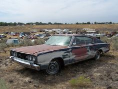1966 Dodge Coronet L&L Classic Auto in Wendell, Idaho Abandoned Cars, Abandoned Vehicles, Wrecking Yards, Classic Cars, Classic Auto, Car Barn, Rusty Cars, Barn Finds, Old Cars