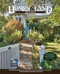 New Issue: Homes & Land Wine Country California #homesandlandmagazine
