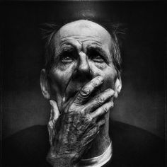 portrait of a homeless man  lee jeffries