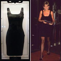 Princess Diana's Dresses Go on Display at Kensington Palace | POPSUGAR Fashion UK