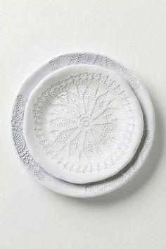 white-on-white etched plates (Univers Mininga)