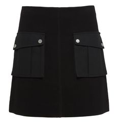 Marc by Marc Jacobs Ponte Skirt in Black