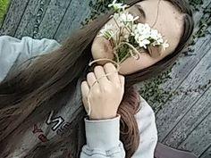 #grunge #soft #flowers #selfie