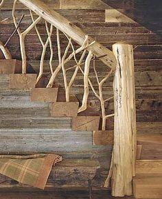Un rampe d'escalier tout à fait originale !