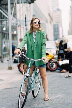 Urban-bike riding attire