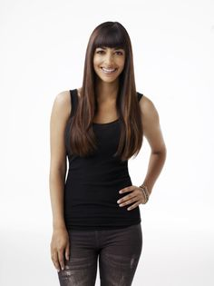 Hannah Simone as Cece in NEW GIRL on FOX.