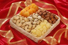 Fruit and Nut 1lb basket