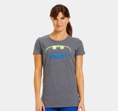 Women's Ombre Batgirl Semi-Fitted T-Shirt - Under Armour #UnderArmour #FitFluential #IWill