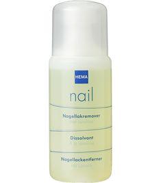 nailpolish remover - HEMA