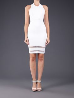Alexander Wang - Suspension detail fitted dress 2