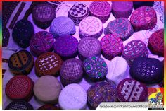 Colorful Sindhi Topis <3