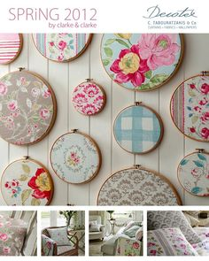 use leftover quilt fabric in same room where quilt is used