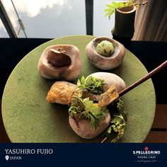 Yasuhiro Fujio from restaurant La Cime in Osaka emerged victorious in the Japan local competition with his signature dish 'Across the Sea,' featuring Japanese 'Ayu' fish.