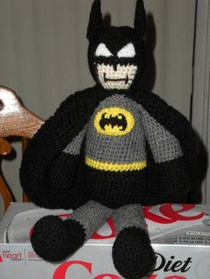 Batman Amigurumi Patron Espanol : Knitted products on Pinterest Knitted Baby, Knitted ...