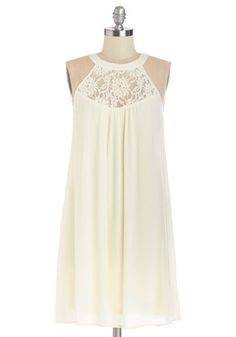 Ethereal Afternoon Dress. You knew today was going to be idyllic, and after lunch youre floating from errand to errand in this cream trapeze dress! #creamNaN