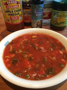 Wil jij nu ook een heerlijke gezonde, pure en snelle tomatensoep maken, bekijk dan hier het recept.