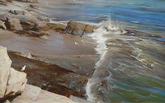 Kai Fine Art is an art website, shows painting and illustration works all over the world. Seascape Paintings, Landscape Paintings, Original Artwork, Original Paintings, Around The Worlds, Pastel, Photos, Fine Art, Sunderland