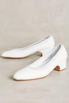 Rachel Comey Calder Crochet Heels White 9 Heels