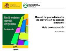 Procedimientos de prevención de riesgos laborales - guía de elaboración.