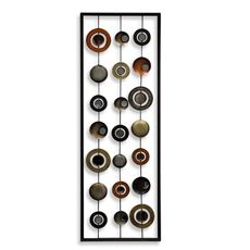mosaic eight plates wall art - bedbathandbeyond perfect match