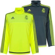 Adidas Performance Men s Real Madrid Football Training Top Warm Up  Sweatshirt   Activewear Tops   Activewear 4e0efc1583d